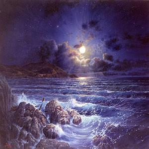 moonlight Atlantide dans Mu : continent engloutie